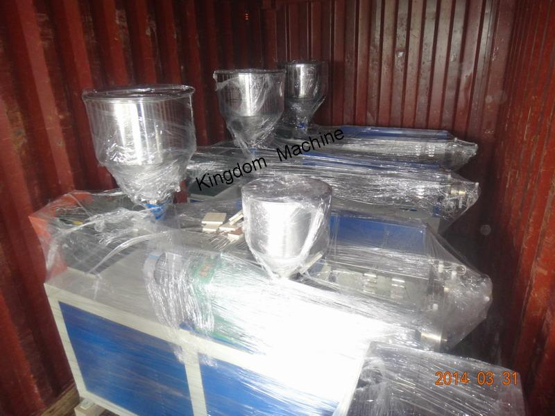 Drinking straw machine shipment